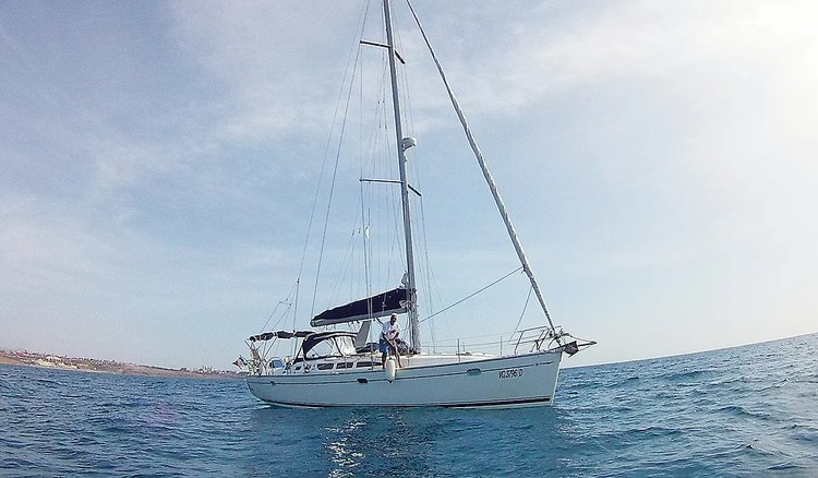 Jeanneau boat for rent in Las Palmas