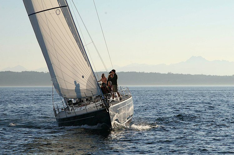 Boating is fun with a Sloop in Seattle
