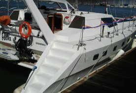 Catamaran boat rental in San Francisco, CA
