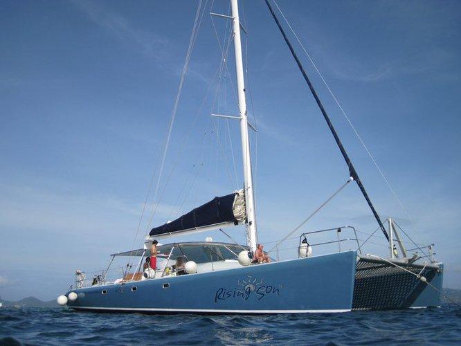 Explore Bermuda's natural wonder & historic points onboard 60' Sailing Catamaran