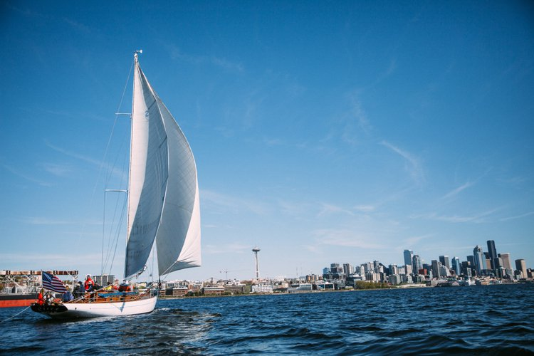 Classic boat rental in Seattle, WA