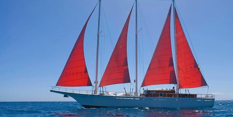 Explore Spain onboard this 72' classic sailing yacht