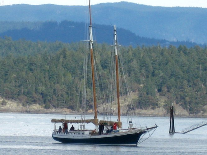 Schooner boat for rent in Friday Harbor