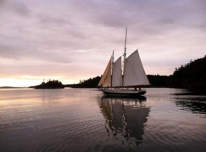 Schooner boat rental in Friday Harbor, WA