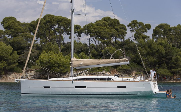 Boat for rent Dufour 46.0 feet in Olbia, Italy