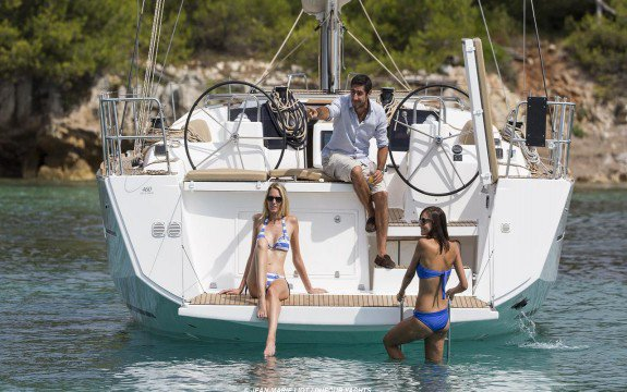 Boating is fun with a Dufour in Olbia