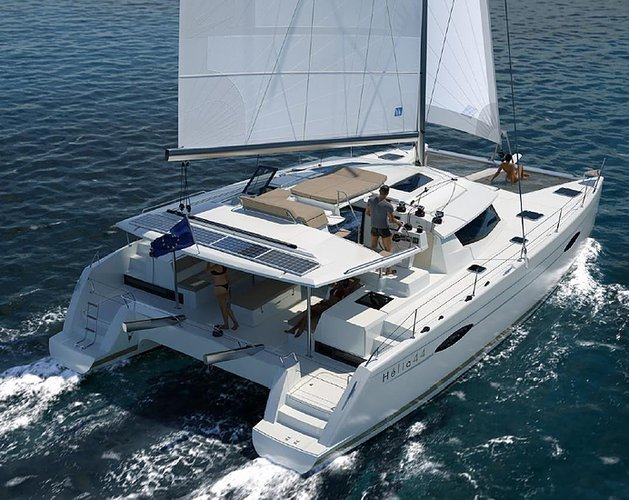 Rent a 44' Fountaine Pajot Hélia in Spain