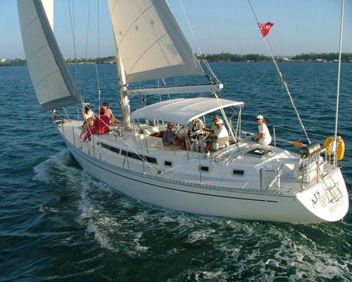 Set Sail in Hamilton, Bermuda inboard 45' elegant cruising monohull