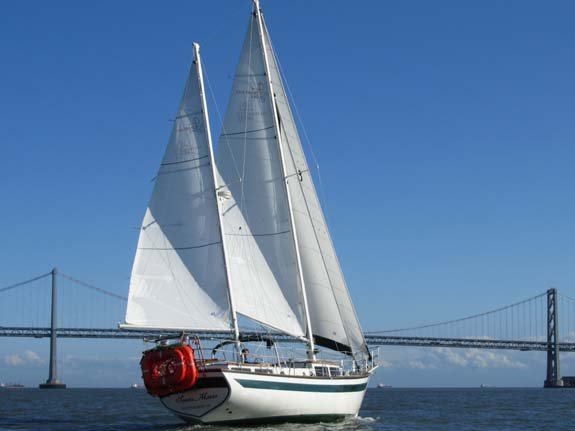 Charter a 41' Ketch Rig in San Francisco, California