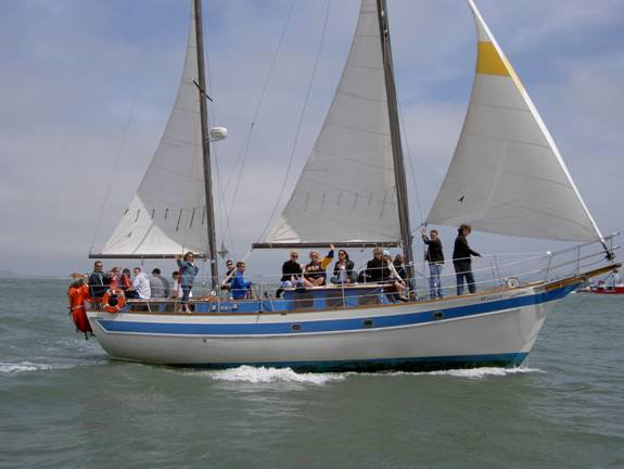 Celebrate your upcoming event in San Francisco onboard this luxurious ketch