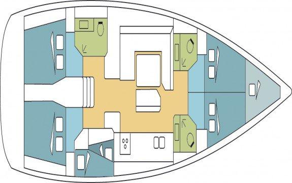 Jeanneau boat for rent in Palma, Illes Balears
