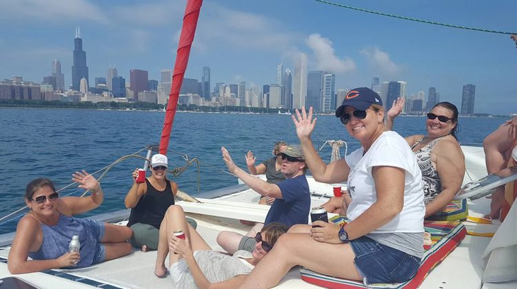 Boating is fun with a Lagoon in Chicago