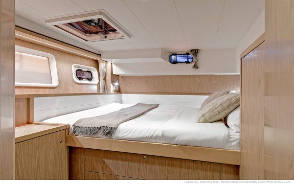 Discover Olbia surroundings on this Custom Lagoon boat