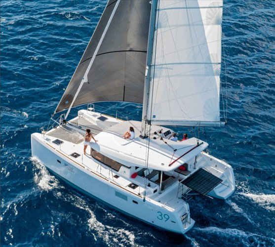 Set sail in Spain onboard Lagoon 39