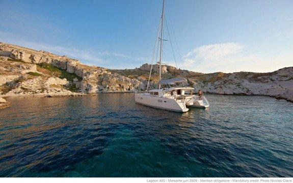 Catamaran boat rental in Ajaccio, France