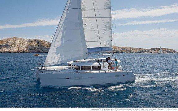 Cruise France onboard 40' Cruising Catamaran