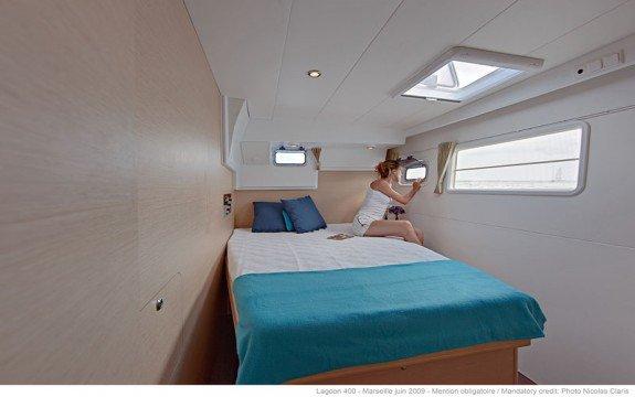 Discover Ajaccio surroundings on this Custom Lagoon boat