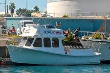 Explore, cruise, dive and enjoy in Bermuda onboard his 40' cuddy cabin