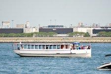 Charter this elegant 65' riverboat in Boston, Massachusetts