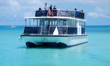 Explore Bermuda onboard custom built 65' power catamaran