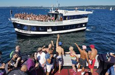 Celebrate your upcoming event onboard Seattle's most popular Party Ship
