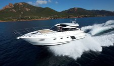 Enjoy the magnificent skyline of Greece onboard Princess V52