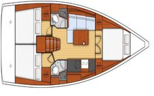 thumbnail-4 Beneteau 38.1 feet, boat for rent in Olbia, IT
