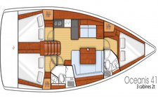 thumbnail-5 Beneteau 41.0 feet, boat for rent in Olbia, IT