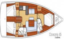 thumbnail-4 Beneteau 45.0 feet, boat for rent in Olbia, IT