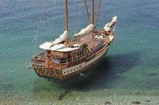 Set sail in Greece onboard 66' custom built Schooner