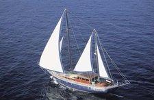 Set your dreams in motion onboard 82' Schooner