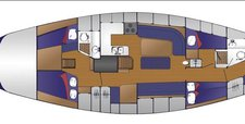 thumbnail-12 Pedrick 55 built in Cheoy Lee Shipyards 55.0 feet, boat for rent in Seattle, WA