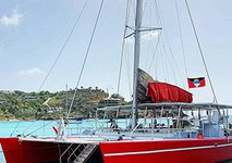 Set sail in Bermuda onboard 65' amazing sailing catamaran