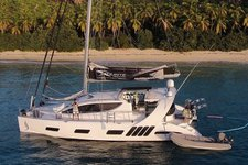 Custom built luxury catamaran