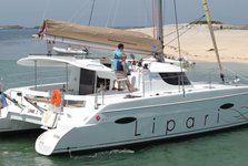 Experience pure comfort and luxury onboard  Lipari 41 Evolution