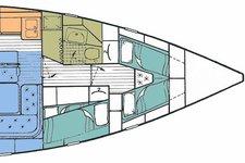 thumbnail-23 Hallberg-Rassy 49.0 feet, boat for rent in Foinikas, GR
