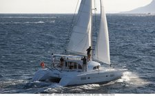 Charter 38' cruising catamaran in Ajaccio, France