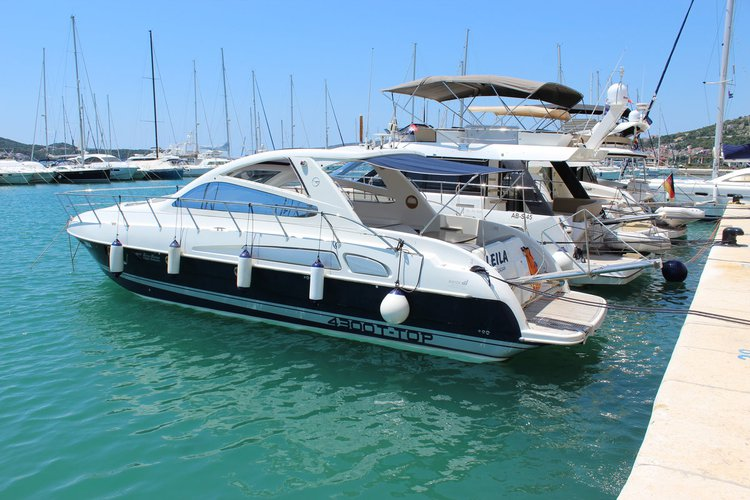 Discover Split region surroundings on this Airon Marine 4300 T-Top Airon Marine boat