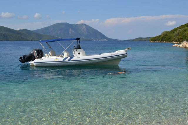 COLBAC 7.20M - 2X115HP MERCURY CT BASED AT LEFKADA NIDRI