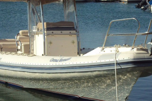 GREAT WHITE 10 - 1X310HP VOLVO DIESEL BASED AT ANTIPAROS - ONLY WITH SKIPPER