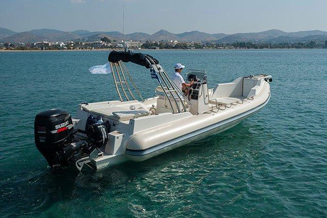 Boat for rent Great White 26.24 feet in Athens - Marina Alimos (Kalamaki),