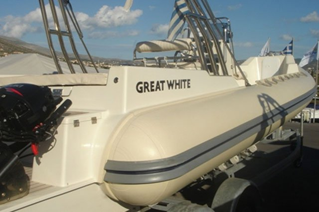 Boating is fun with a Rigid inflatable in Saronic Gulf