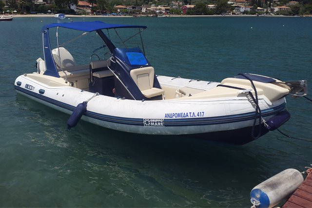 Boat rental in Lefkada,