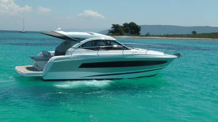 Motor yacht boat rental in Marina Trogir – ACI, Croatia