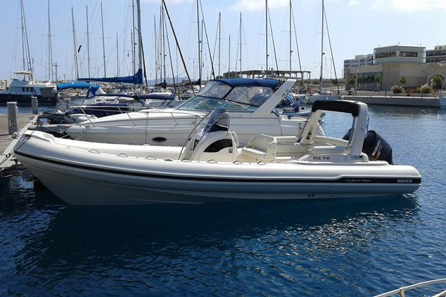 Discover Rodos surroundings on this Custom Marco boat