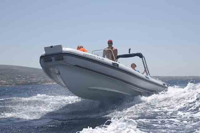 NORTHSTAR 6.5 - 150HP EVINRUDE BASED AT ANTIPAROS ISLAND