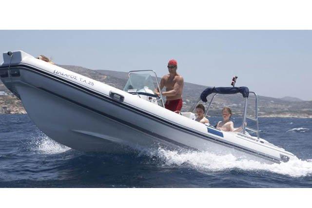 Boat for rent Northstar 21.32 feet in Antiparos, Greece