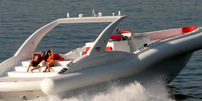 Rigid inflatable boat rental in Santa Cruz De Tenerife,