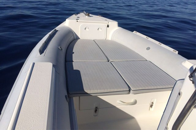 Rigid inflatable boat for rent in Antiparos