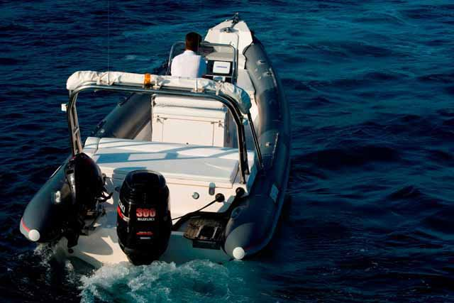 Scorpion's 28.21 feet in Saronic Gulf